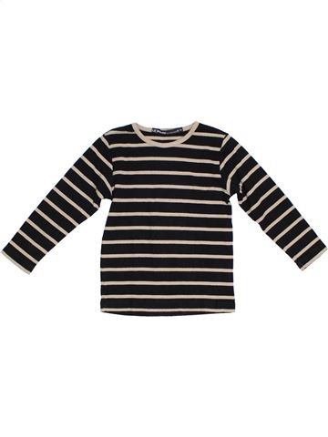 T-shirt manches longues garçon LE PHARE DE LA BALEINE noir 4 ans hiver #1285728_1