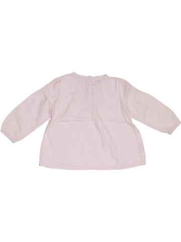 Blusa de manga larga niña BOUT'CHOU violeta 2 años invierno #1285785_1