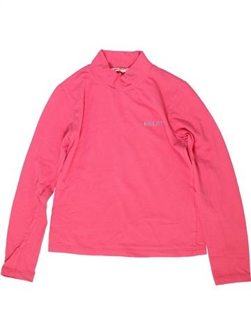 T-shirt manches longues fille MELBY rose 10 ans hiver #1286066_1