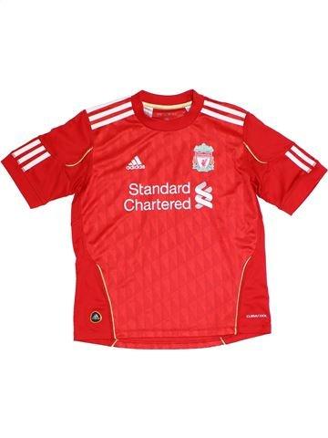 Camiseta deportivas niño ADIDAS rojo 10 años verano #1287428_1