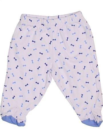 Pantalon garçon BLUKIDS blanc 6 mois été #1287944_1