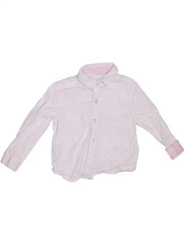 Chemise manches longues garçon LADYBIRD blanc 4 ans hiver #1289523_1