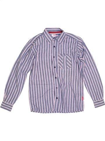 Chemise manches longues garçon NAME IT violet 12 ans hiver #1289836_1
