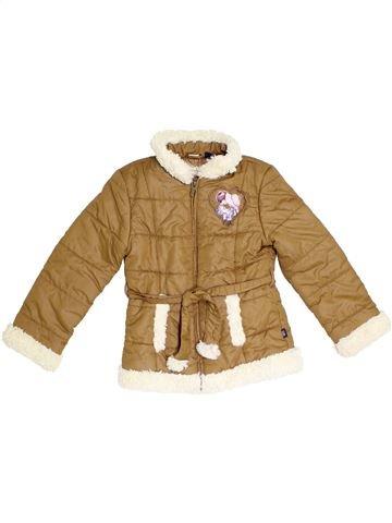 Manteau fille ORIGINAL MARINES marron 10 ans hiver #1290137_1