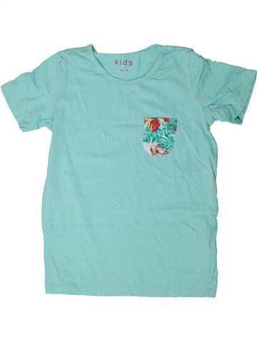 T-shirt manches courtes fille TCHIBO bleu 10 ans été #1290780_1