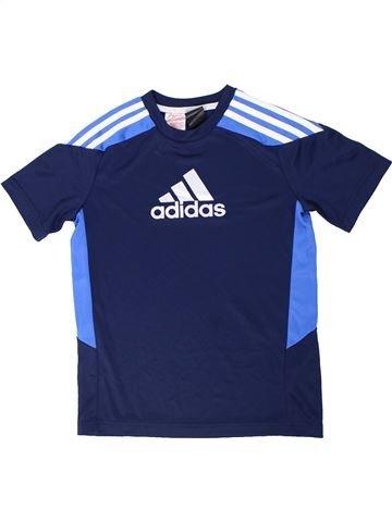 Camiseta deportivas niño ADIDAS azul 12 años verano #1291441_1