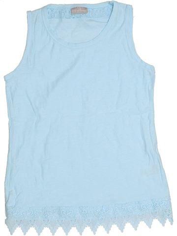 T-shirt sans manches fille I LOVE GIRLSWEAR bleu 9 ans été #1291562_1