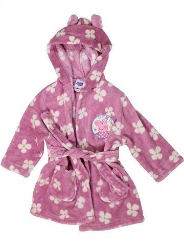 Robe de chambre fille PEPPA PIG violet 2 ans hiver #1292457_1