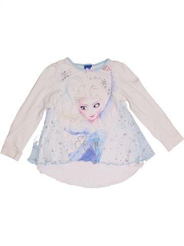 Camiseta de manga larga niña DISNEY blanco 7 años invierno #1293761_1