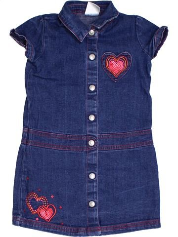 Vestido niña LADYBIRD azul 4 años verano #1294101_1