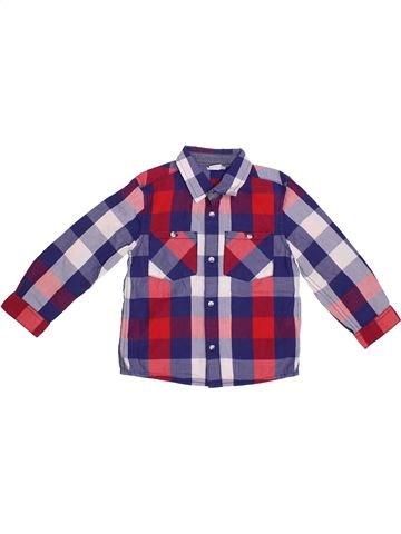 Chemise manches longues garçon MINI CLUB violet 4 ans hiver #1294835_1