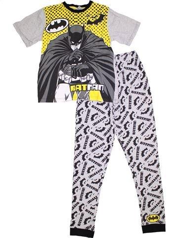 Pijama de 2 piezas niño SUPERS HÉROS blanco 12 años verano #1294940_1