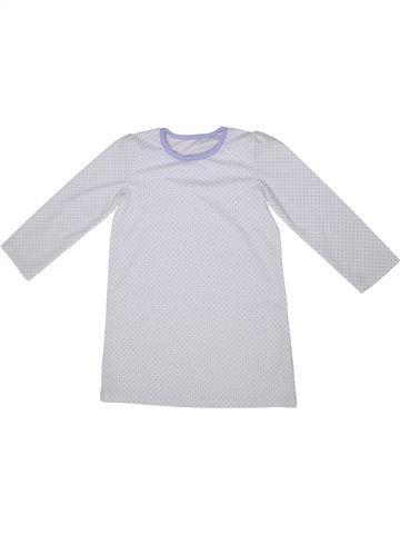 Pijama de 1 pieza niña GEORGE blanco 5 años verano #1295097_1