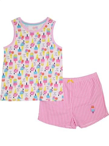 Pijama de 2 piezas niño GEORGE rosa 13 años verano #1295177_1
