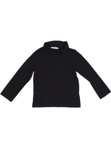 Camiseta de cuello alto unisex GEORGE negro 5 años invierno #1295515_1