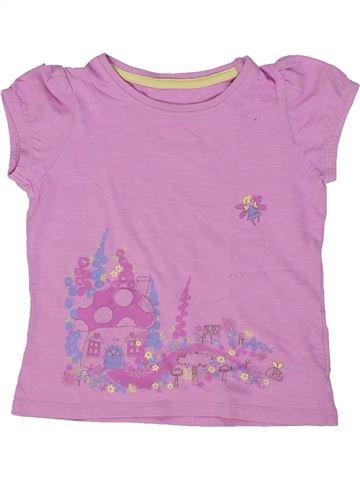 Camiseta de manga corta niña MOTHERCARE rosa 3 años verano #1295563_1