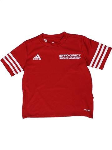 Camiseta deportivas niño ADIDAS rojo 6 años verano #1295648_1