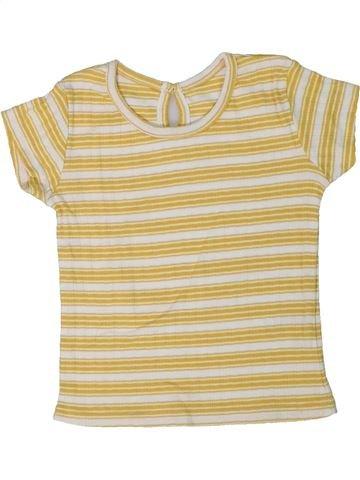 Camiseta de manga corta niña MATALAN beige 2 años verano #1295666_1