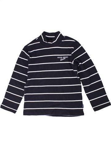 T-shirt manches longues garçon ORIGINAL MARINES bleu foncé 6 ans hiver #1296099_1