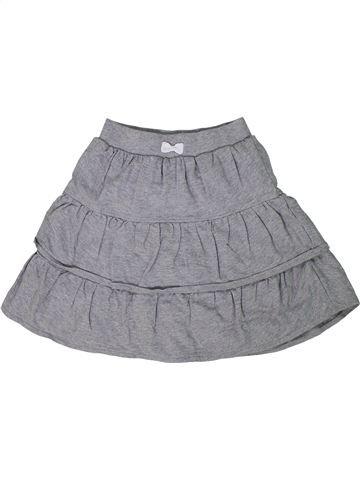 Falda niña VERTBAUDET gris 10 años verano #1296163_1