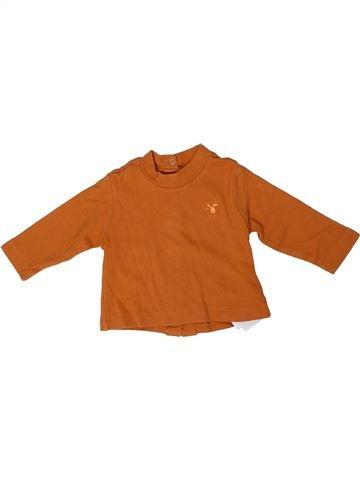 T-shirt manches longues garçon CHICCO marron 6 mois hiver #1296184_1