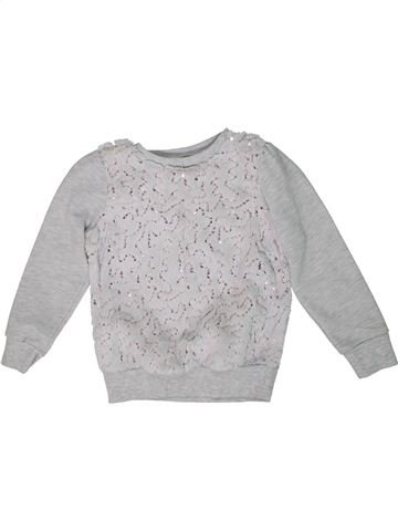 Sweat fille PEP&CO gris 6 ans hiver #1296572_1