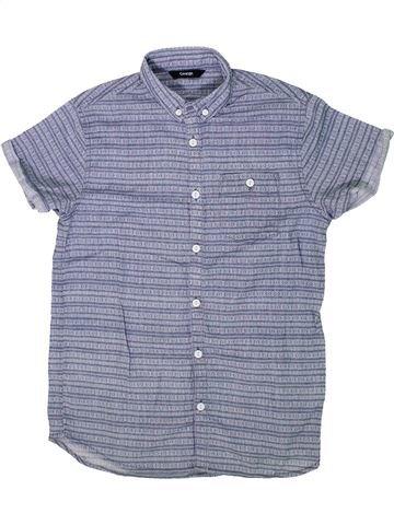 Camisa de manga corta niño GEORGE gris 13 años verano #1296895_1