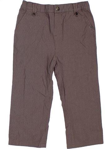 Pantalón niño OKAIDI gris 2 años invierno #1297586_1
