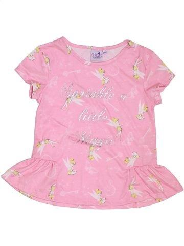 Camiseta de manga corta niña DISNEY rosa 6 años verano #1298161_1