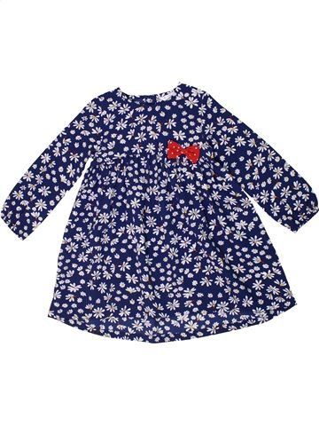 Robe fille M&CO bleu 2 ans hiver #1298274_1