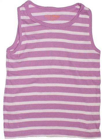 T-shirt sans manches fille BODEN violet 7 ans été #1298295_1