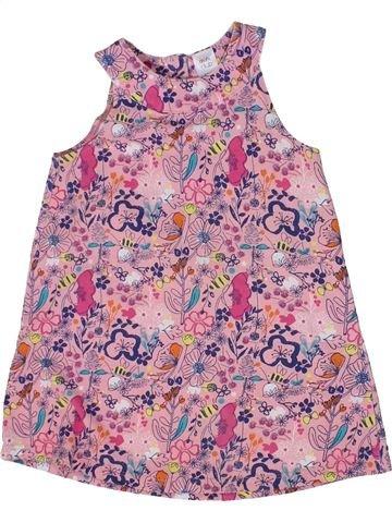 Robe fille MINI CLUB violet 3 ans été #1298402_1