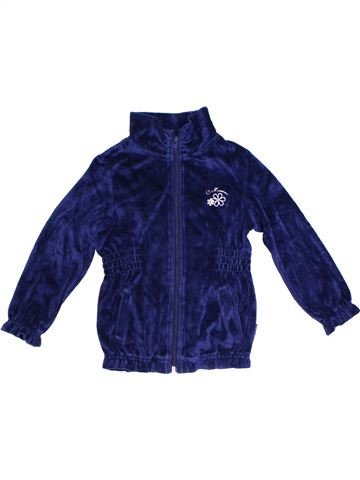 Gilet fille ORIGINAL MARINES bleu 4 ans hiver #1298975_1