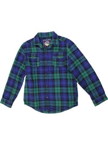 Chemise manches longues garçon NEXT bleu 7 ans hiver #1299014_1