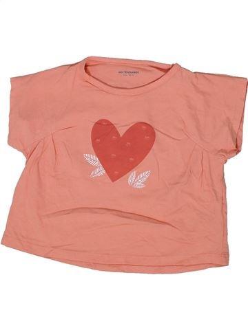 Camiseta de manga corta niña VERTBAUDET rosa 3 años verano #1299105_1