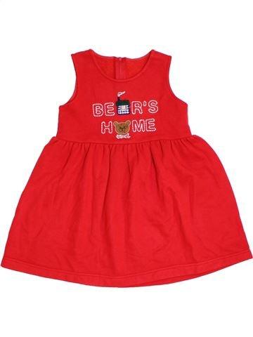 Vestido niña SANS MARQUE rojo 4 años invierno #1299113_1