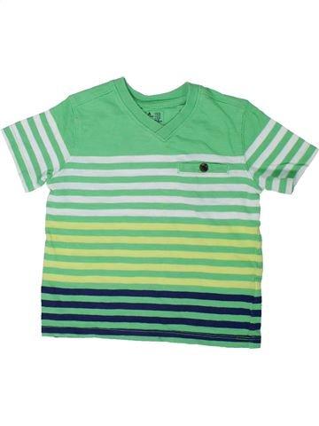 Camiseta de manga corta niño GAP verde 2 años verano #1299643_1