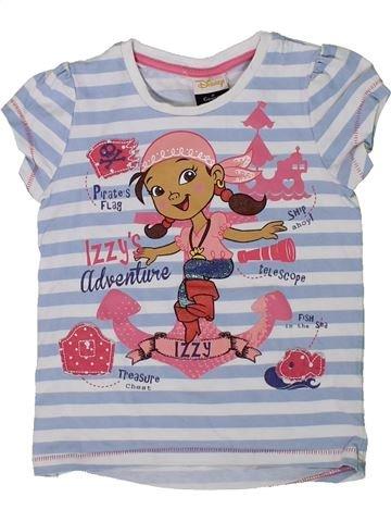 Camiseta de manga corta niña DISNEY gris 2 años verano #1299806_1