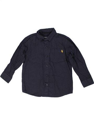 Camisa de manga larga niño TU negro 5 años invierno #1299907_1