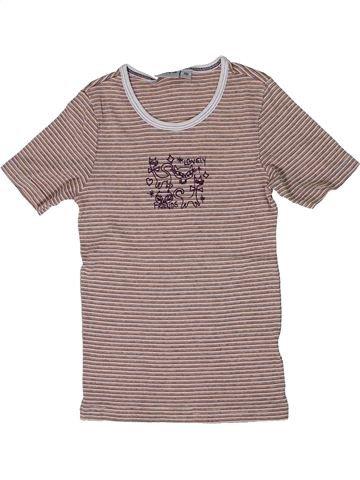 T-shirt manches courtes fille ALIVE rose 10 ans été #1300330_1