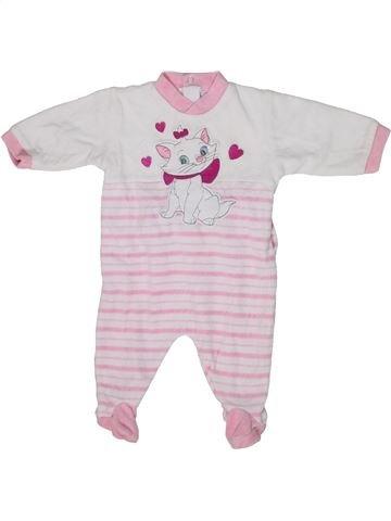 Pijama de 1 pieza niña DISNEY blanco 1 mes invierno #1300473_1