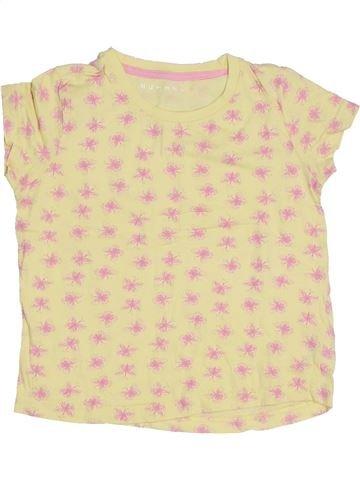 Camiseta de manga corta niña NUTMEG amarillo 5 años verano #1300713_1
