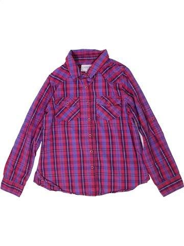 Chemise manches longues garçon CHEROKEE violet 9 ans hiver #1300749_1