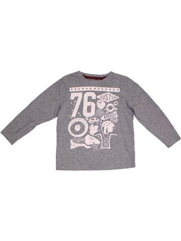 Camiseta de manga larga niño TU gris 4 años invierno #1300775_1