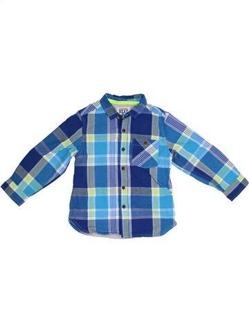 Chemise manches longues garçon NEXT bleu 3 ans hiver #1300790_1