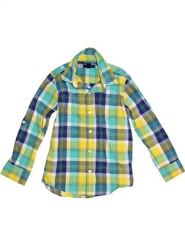 Camisa de manga larga niño GAP verde 7 años invierno #1300942_1