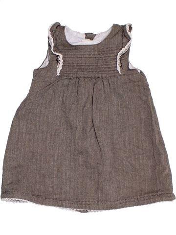 Vestido niña H&M gris 12 meses verano #1300982_1