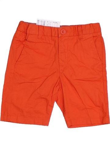 Short-Bermudas niño H&M rojo 4 años verano #1301041_1