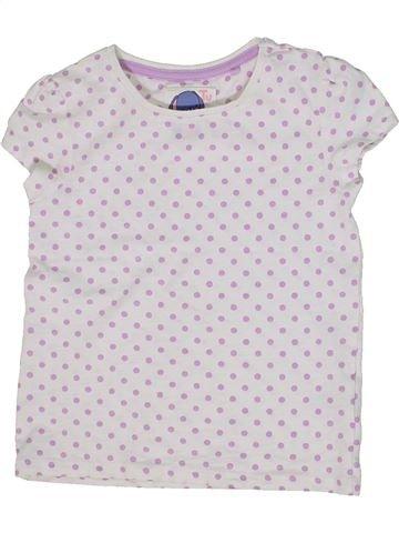 Camiseta de manga corta niña TU blanco 5 años verano #1301052_1