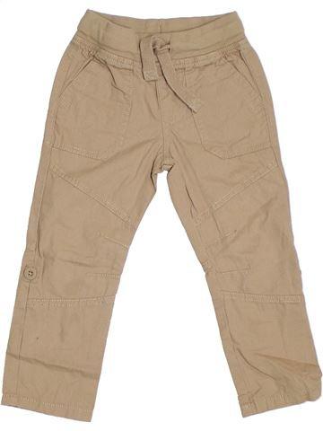 Pantalón niño F&F marrón 3 años verano #1301071_1